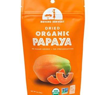 Mavunoharvest, Organic Dried Papaya 2oz