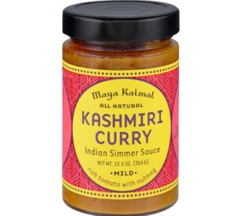 Maya Kaimal Kashmiri Curry Indian Simmer Sauce, 12.5 oz