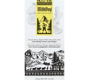 Milk Boy, Swiss Chocolate Finest Alpine Milk 3.5oz