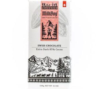 Milkboy, Swiss Extra Dark 85% Cocoa 3.5oz