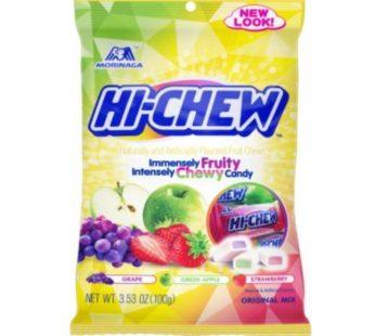 Morinaga, Hi Chew Bag Small Original Mix (Grape, Green Apple, Strawberry) 3.53oz