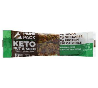 Munkpack, KETO Nut & Seed Bar Pumpkin Seed