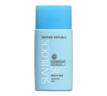 Nature Republic, California Aloe Waterproof Sun Block SPF50+ PA++++