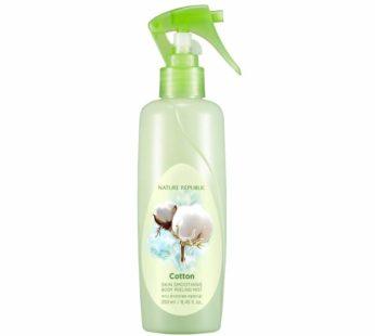 Nature Republic, Cotton Skin Smoothing Body Peeling Mist 8.45 fl oz
