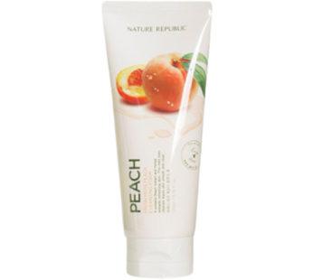 Nature Republic, Fresh Herb Peach Cleansing Foam