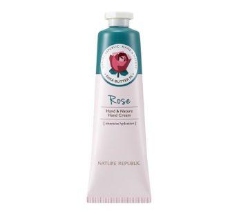 Nature Republic, Hand Cream Rose 1.01fl, oz