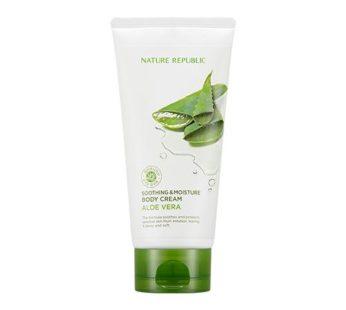 Nature Republic, Soothing & Moisture Aloe Vera Body Cream 5.07oz