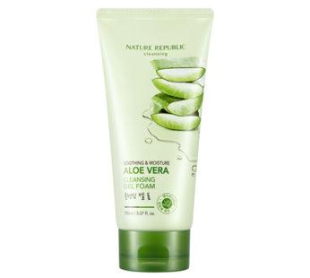 Nature Republic, Sooting & Moisture Aloe Vera CLEANSING GEL Cream