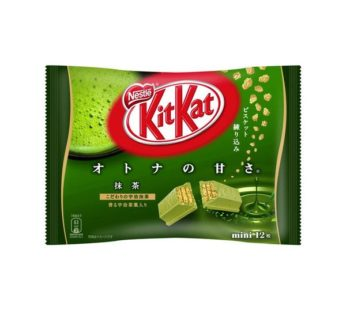 Nestle, KITKAT Green Tea Mini Biscuit