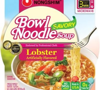 Nongshim, Bowl Noodle Savory Lobster 3.03oz