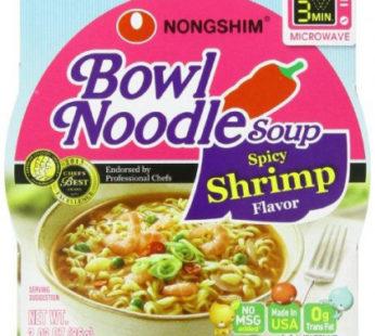 Nongshim, Bowl Noodle Spicy Shrimp 3.03oz