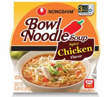 Nongshim, Chicken Spicy Ramen Bowl 3.03oz