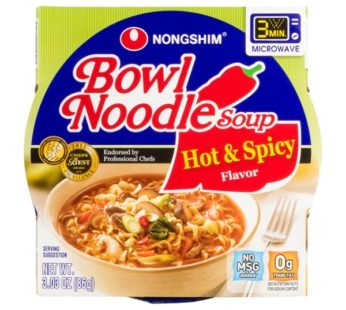 Nongshim, Hot & Spicy Ramen Bowl 3.03oz