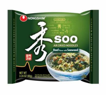 Nongshim, Soo Dried Ramen Beef & Seafood 3.24oz