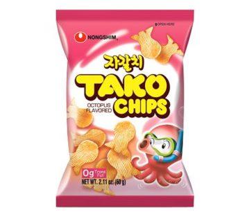 Nongshim, Tako Chip Octopus Flavor 2.1oz