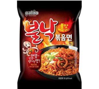 Paldo, Bul Nak Hot Octopus Stir Fried Noodle 4.58oz