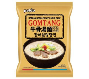 Paldo, Gomtang Korean Noodles with Soup Base 3.60oz
