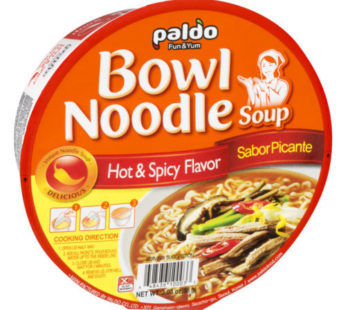 Paldo, Hot & Spicy Bowl 3.03oz
