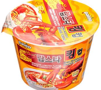 Paldo, King Cup Sriracha Lobster Ramen 3.88oz