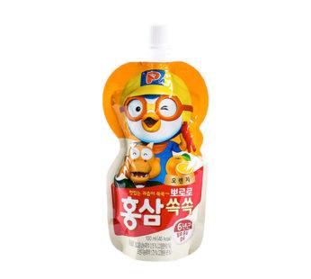 Paldo, Pororo Ginseng Drink Orange 3.38fl.oz