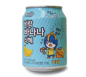 Paldo, Rice Punch Banana Flavor 8.04fl.oz (12) SRP2.59