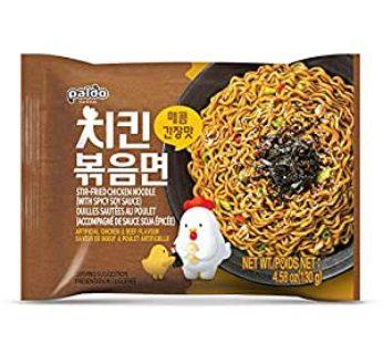 Paldo, Stir Fried Chicken Noodle 4.58oz