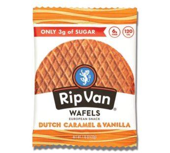 Rip Van, Wafels Dutch Caramel & Vanilla 1.16oz
