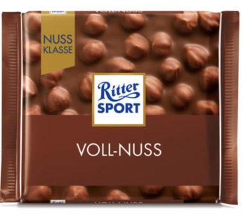 Ritter Sports, Voll Nuss 3.5oz