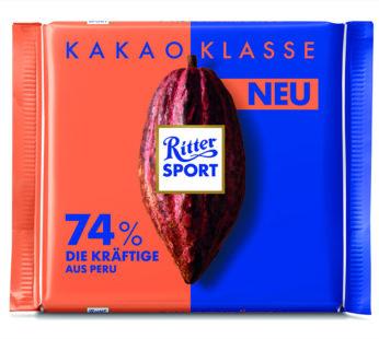 Ritter Sports, Kakao Klasse 74% 3.52oz