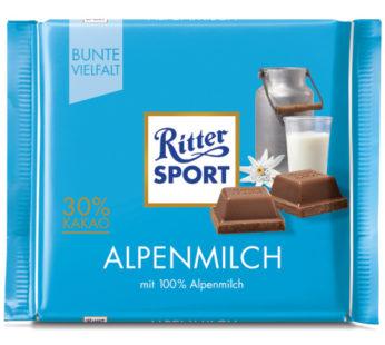 Rittersport, Alpen Milk 3.52oz