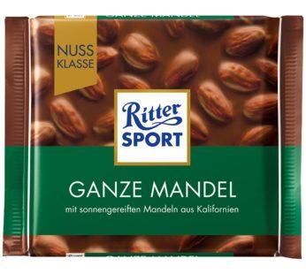 Ritter Sports, Ganze Mandel/Whole Almonds 3.52oz