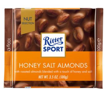 Ritter Sports, Honey Salt Almond 3.52oz