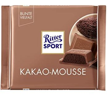 Rittersport, Kakao Mousse 3.52oz