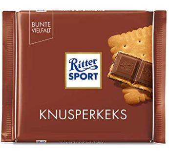 Ritter Sports, Knusper Keks/Bisquit 3.52oz
