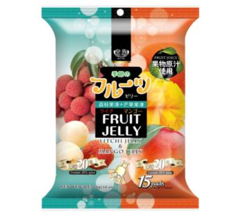 Royal Family, Fruit Juice Litchi & Mango Jelly 10.6oz