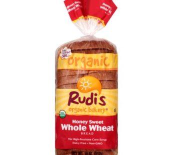 Rudis, Honey Sweet Whole Wheat
