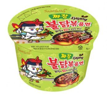 Samyang, Hot Chicken Big Bowl Jjajang 3.70oz