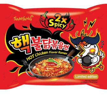Samyang, Hot Chicken Ramen 2X Spicy 4.93oz
