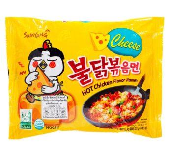 Samyang, Hot Chicken Ramen Cheese 4.94oz