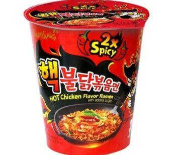 Samyang, Hot Chicken Ramen Cup 2X Spicy 2.47oz