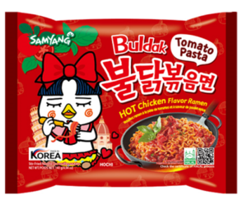 Samyang, Hot Chicken Ramen Tomato Pasta 4.94oz