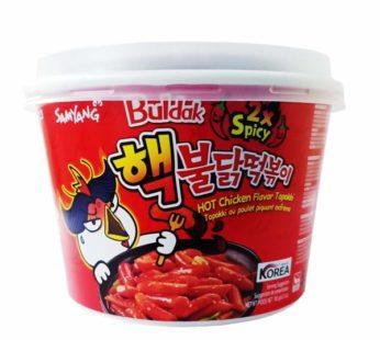 Samyang, Hot Chicken Topokki Bowl 2X Spicy 6.53oz