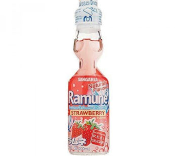 Sangaria, Ramune Strawberry 6.76fl. oz.