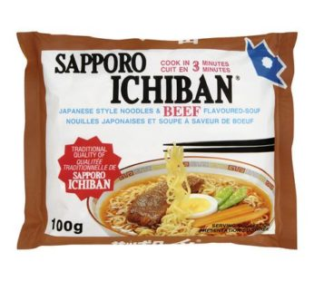 Sapporo, Ichiban Ramen Beef 3.55oz