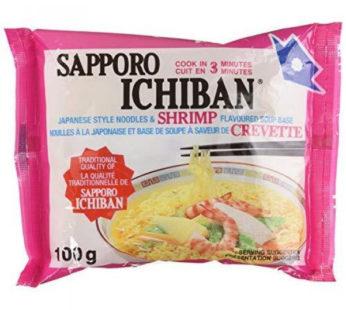 Sapporo, Ichiban Ramen Shrimp 3.55oz