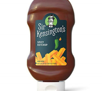 Sir Kensington's Ketchup – Spicy Squeeze Bottle, 20 oz