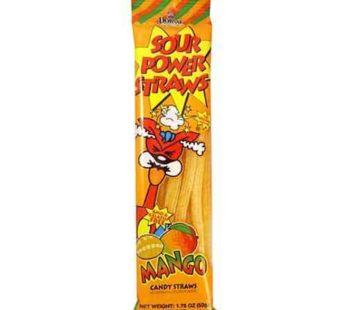 Dorval, Sour Power, Straws Mango 1.75oz (24) SRP2.09