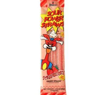 Dorval, Sour Power, Straws Strawberry 1.75oz