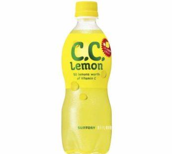 Suntory, C.C. Lemon Pet 16.9fl. oz.