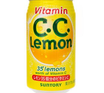 Suntory, CC Lemon Soft Drink 11.8oz